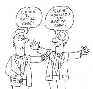 vignetta perchè il radical chic