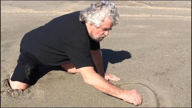 Ho scritto TAV sulla sabbia