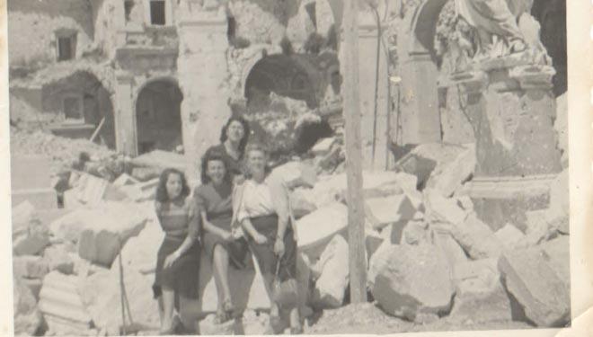 Primavera del 1944. La Terra di Cassino è Martire.